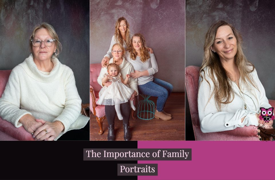 Why get family portraits?
